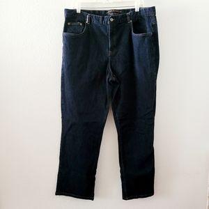 Lauren Ralph Lauren classic straight jeans sz 16W